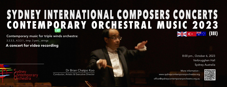 Contemporary Orchestral Music 2022 (SCOC No.18)