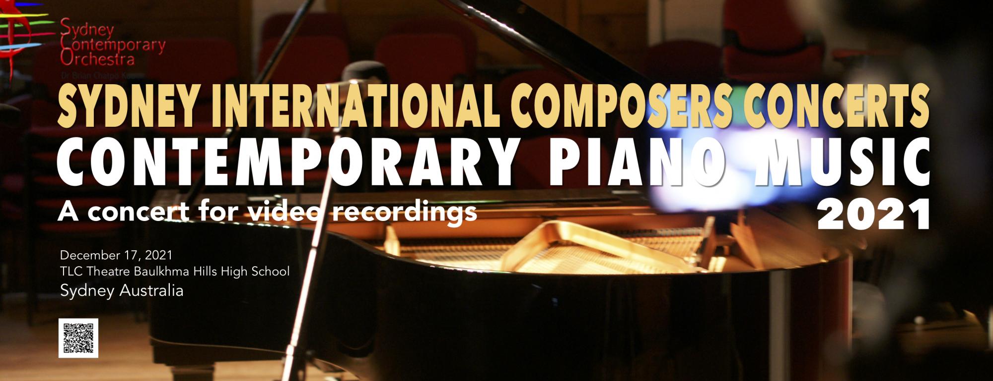Contemporary Piano Music  2021 (SCO Concert No.20)