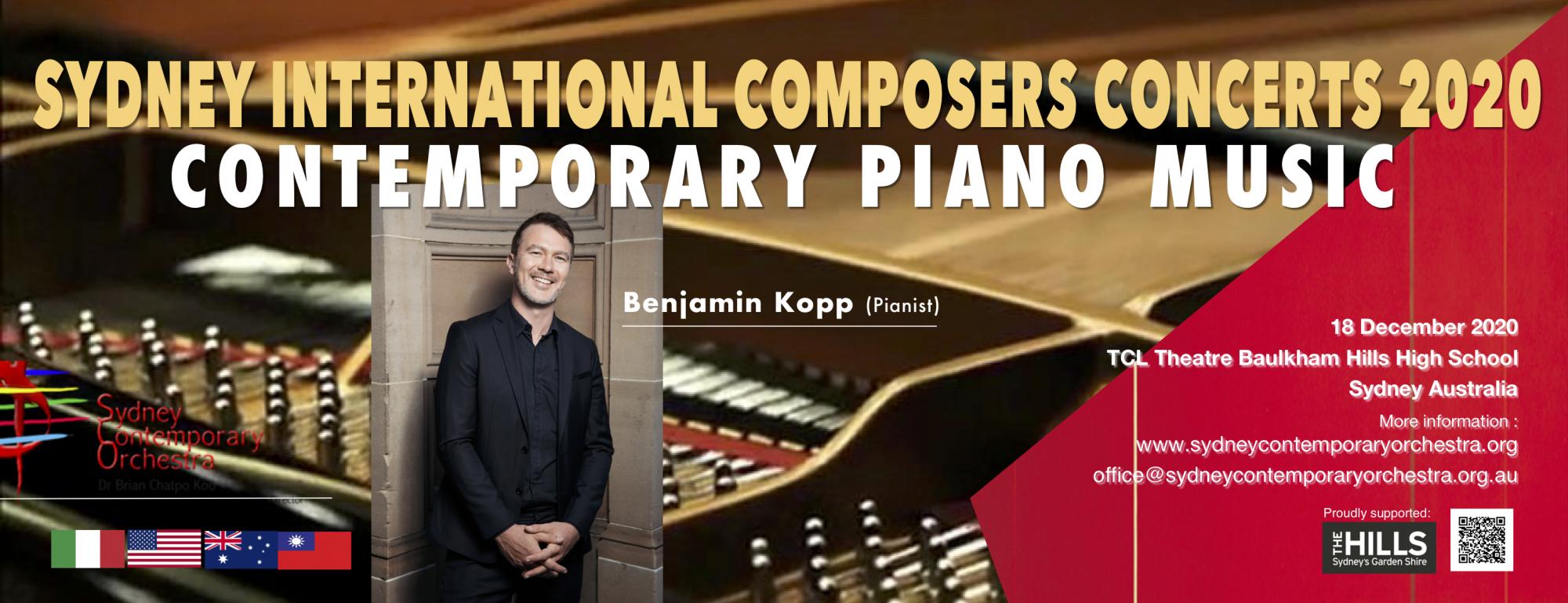 Contemporary Piano Music  2020 (SCO CONCERT No.13)